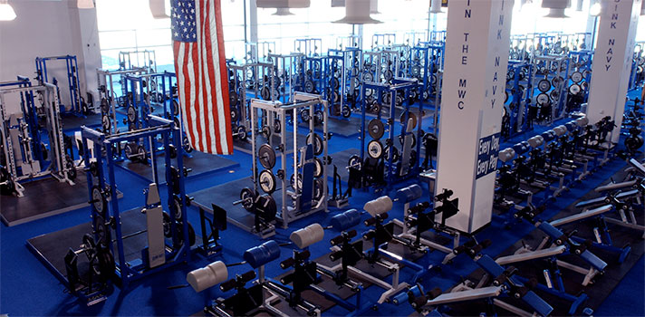 Fac weight room air force academy athletics