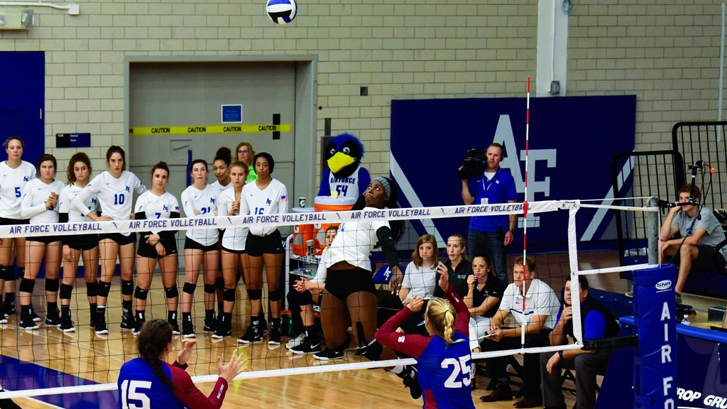 Women's Volleyball - Air Force Academy Athletics