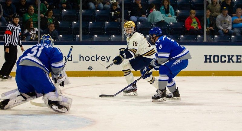 Big third period leads No. 8 Notre Dame over Air Force
