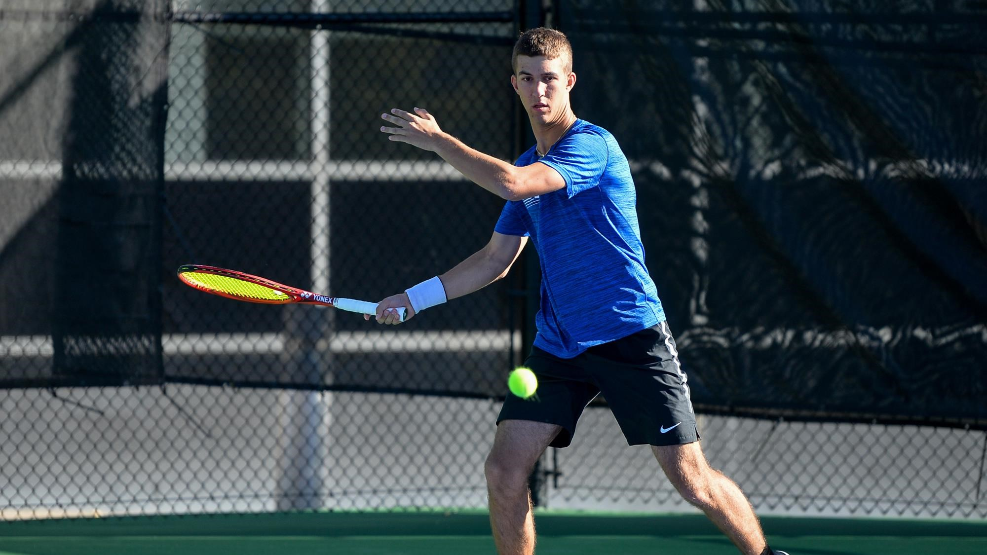 Air Force Men's Tennis Completes Day Two At Idaho State