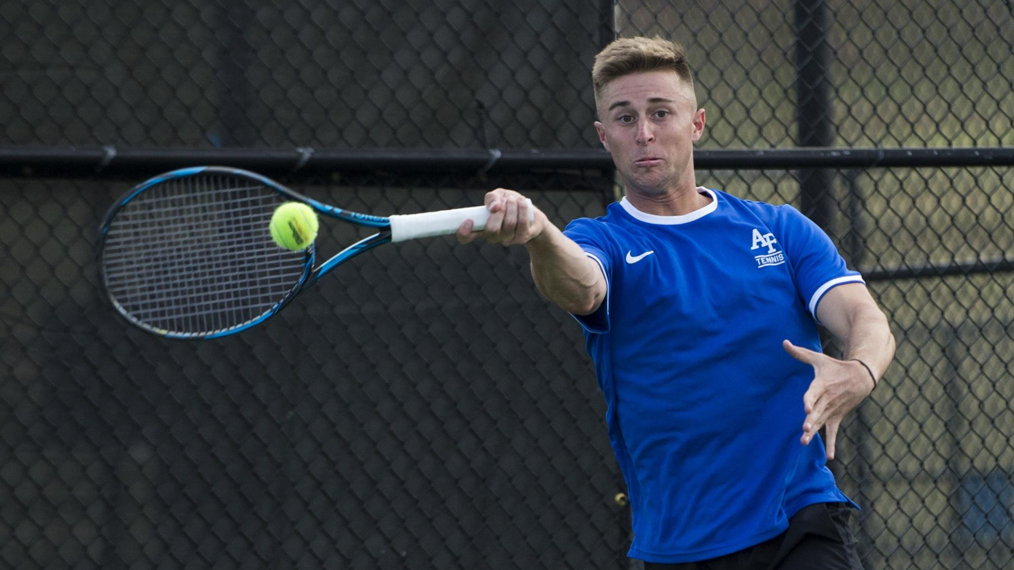 Air Force Men's Tennis Completes Day Two Of ITA Bedford Cup