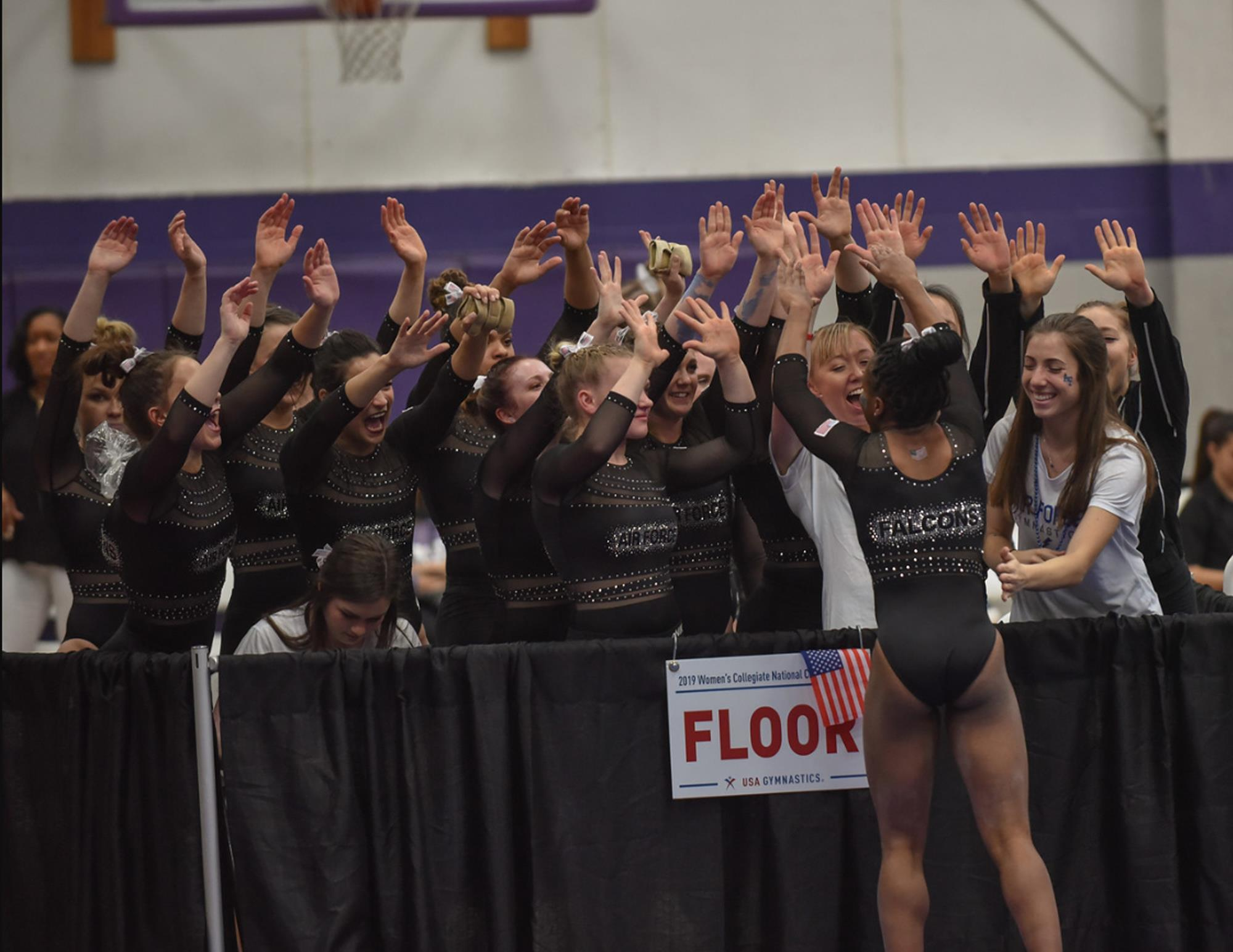 2e7b388e46ac Air Force Concludes USA Gymnastics Collegiate Nationals with Five All-Americans