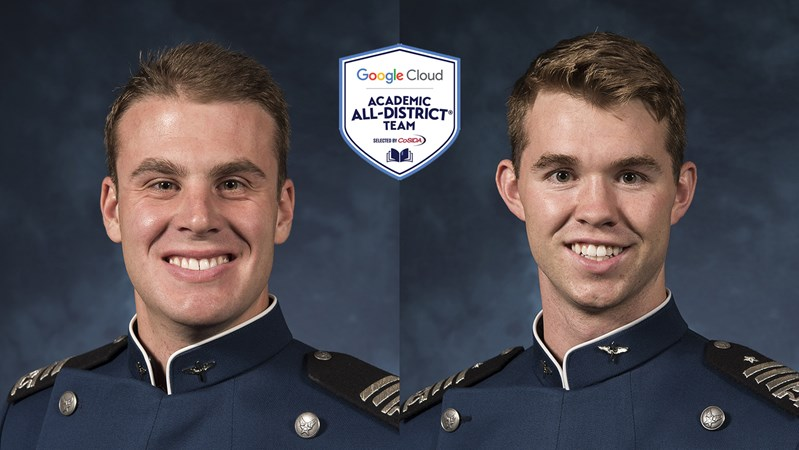 Koch and Haak earn academic all-district honors - Air Force Academy Athletics