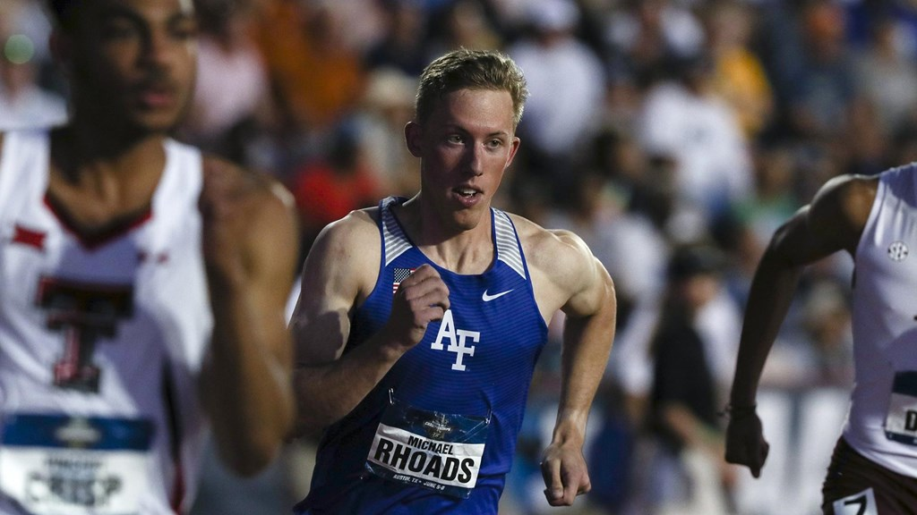 Track And Field Air Force Academy Athletics - Us-track-and-field-map-it