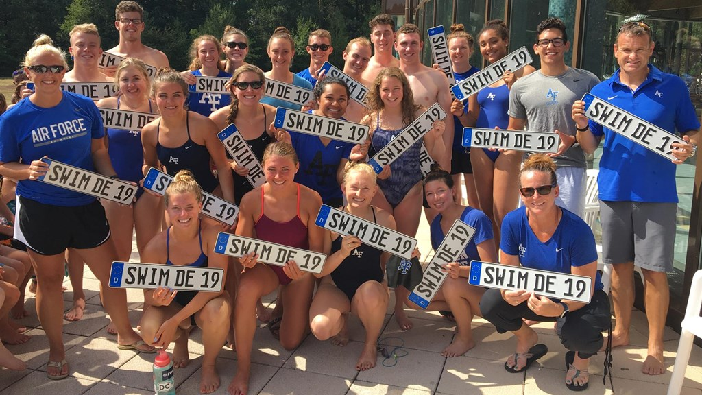 Men's Swimming and Diving - Air Force Academy Athletics