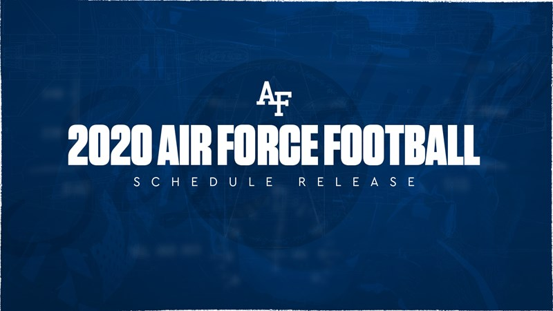 Complete Air Force football schedule with television, kick times announced - Air Force Academy Athletics