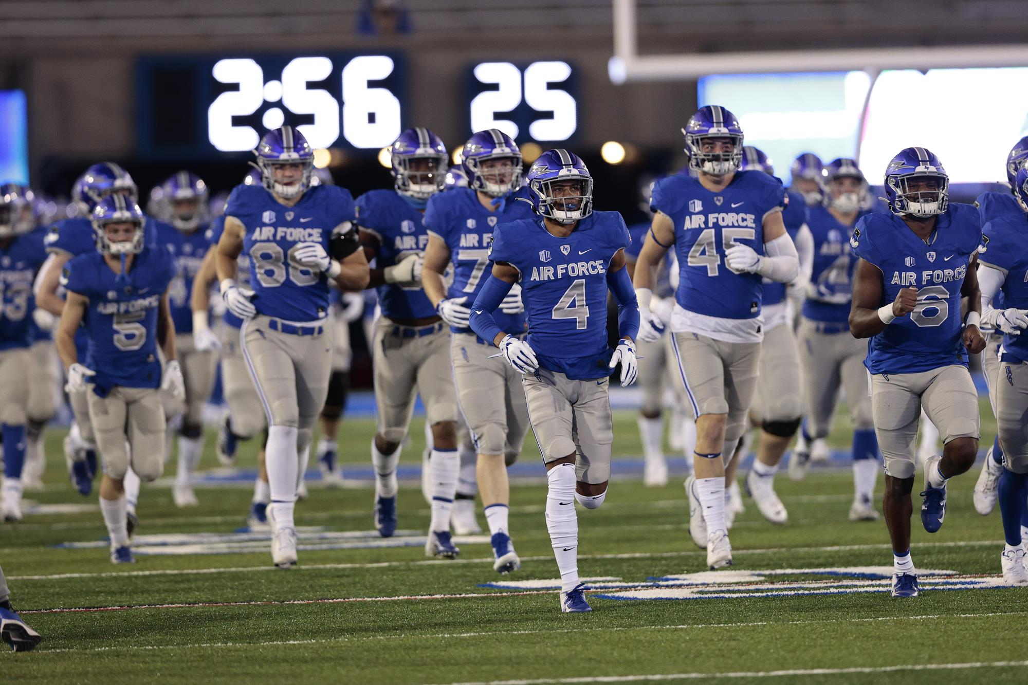 Complete Air Force Football Schedule With Television Kick Times Announced Air Force Academy Athletics