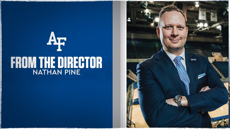 Athletic Director's message to Falcon Nation - Air Force Academy Athletics