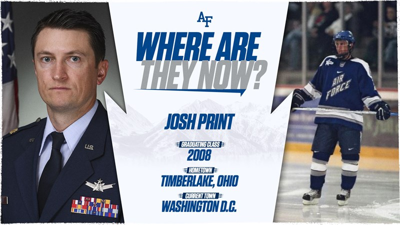 Where Are They Now?: Josh Print - Air Force Academy Athletics